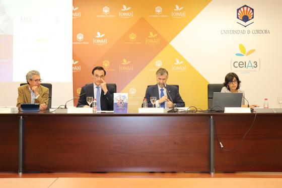 Rueda de prensa en la que se ha presentado Burgos como sede del VII Congreso de Comunicación Social de la Ciencia en 2019